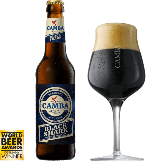 Bier Black Shark groß